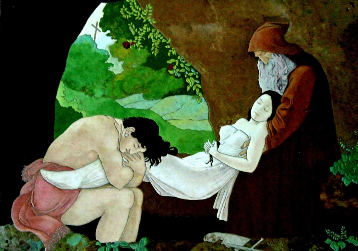 Atala au tombeau - Julia Dawson Billet
